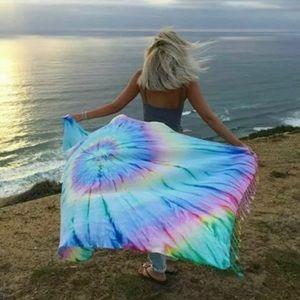 Sand Cloud Towel - Turkish Cotton - Tie Dye 😍